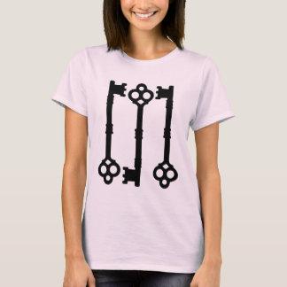 Antique keys cute gothic T-Shirt