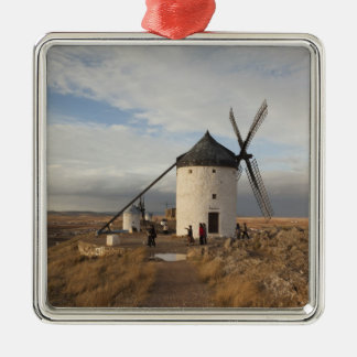 Antique La Mancha windmills, with visitors Christmas Ornament
