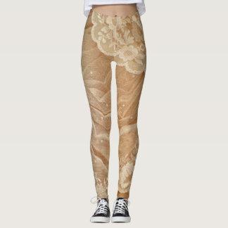 Antique Lace Leggings