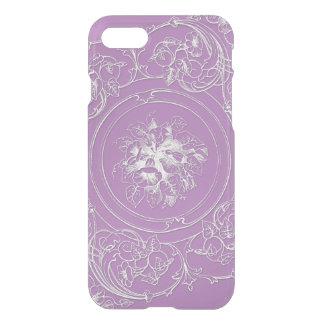 Antique Lacy Purple iPhone 7 Case