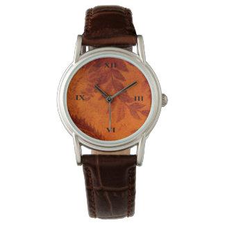 Antique Leaf Watch
