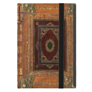 Antique Leather And Brass Bound Book Cover Covers For iPad Mini