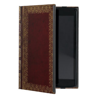 Antique Leather Book Bibliophile Cover For iPad Mini