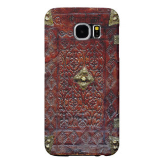 Antique Leather Book Bibliophile Samsung Galaxy S6 Cases