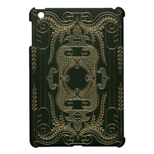 Old Book Leather Case ~ Antique leather book binding case for the ipad mini zazzle