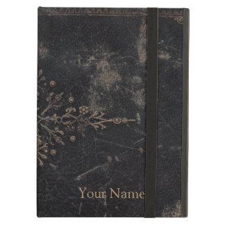 Antique Leather Book Gold Leaf Fleur-de-lis iPad Air Case