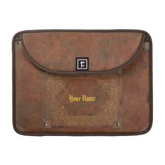 Antique Leather look Sleeve For MacBooks