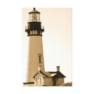 Antique Lighthouse Canvas Print