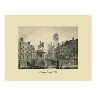 Antique London 1795 Charing Cross Postcards