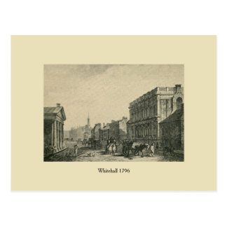 Antique London 1796 Whitehall Post Cards