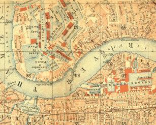 Vintage London Map Posters Prints Zazzle Uk