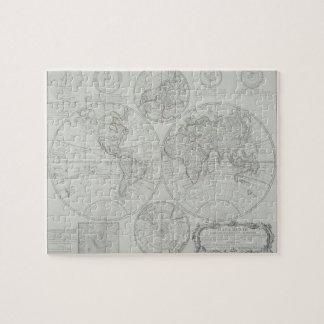 Antique Map 2 Jigsaw Puzzle