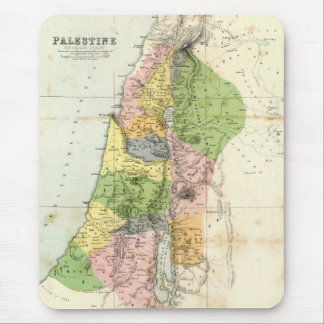Antique Map - Biblical Palestine Mouse Pad