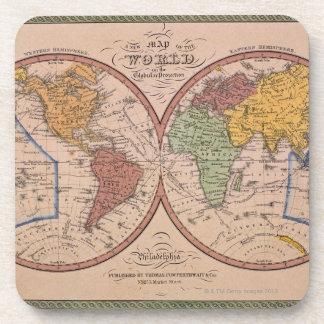 Antique Map Coaster