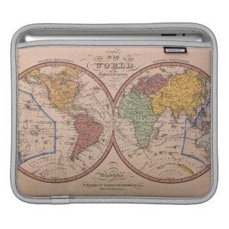 Antique Map iPad Sleeve