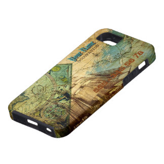 Antique Map - iPhone 5 Case