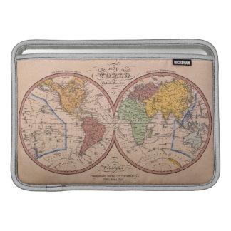 Antique Map MacBook Sleeve