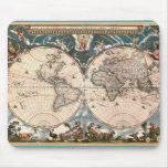 ANTIQUE MAP MOUSE MAT