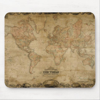 Antique Map Mousepad
