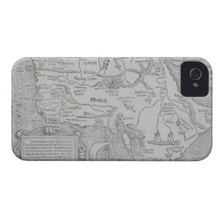 Antique Map of Africa iPhone 4 Case-Mate Cases
