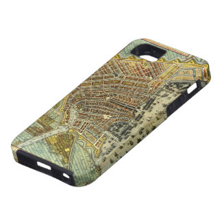 Antique Map of Amsterdam, Holland aka Netherlands iPhone 5 Cases