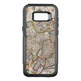 Antique Map of Asia Circa 1632 OtterBox Commuter Samsung Galaxy S8+ Case