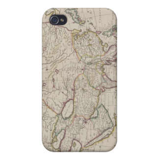 Antique Map of Asia iPhone 4/4S Case