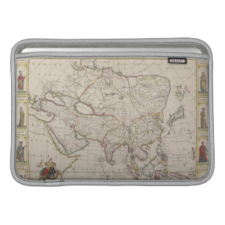 Antique Map of Asia MacBook Sleeves