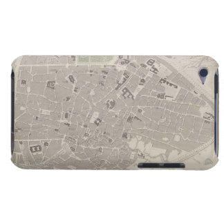Antique Map of Belgium 2 Barely There iPod Cover