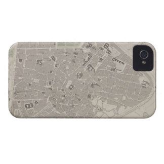 Antique Map of Belgium 2 Case-Mate iPhone 4 Cases