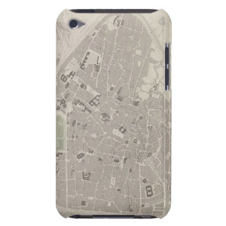 Antique Map of Belgium 2 Case-Mate iPod Touch Case