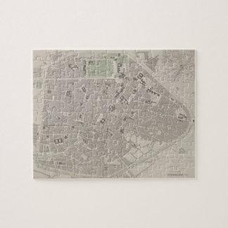 Antique Map of Belgium 2 Jigsaw Puzzle
