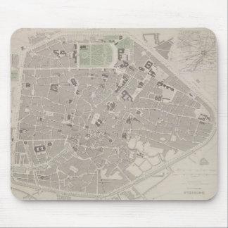 Antique Map of Belgium 2 Mouse Mat