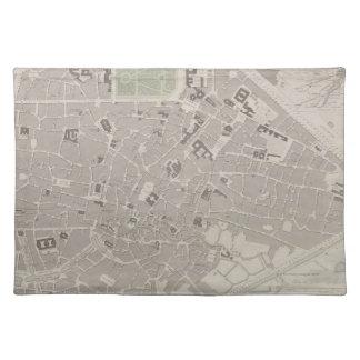 Antique Map of Belgium 2 Placemat