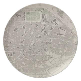 Antique Map of Belgium 2 Plate