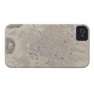 Antique Map of Belgium Case-Mate iPhone 4 Cases