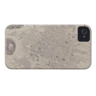 Antique Map of Belgium iPhone 4 Cases