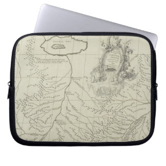 Antique Map of China Laptop Sleeve