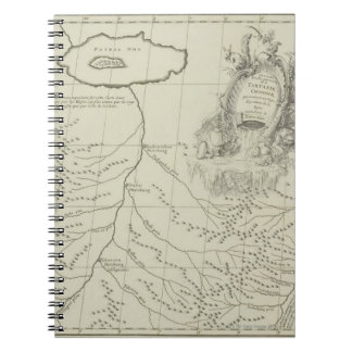 Antique Map of China Notebooks