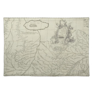 Antique Map of China Place Mat