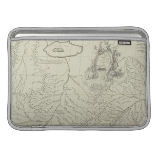 Antique Map of China Sleeve For MacBook Air