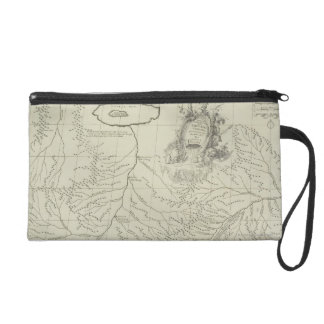 Antique Map of China Wristlet Clutch