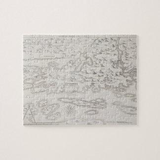 Antique Map of Croatia Jigsaw Puzzle