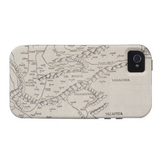 Antique Map of Eastern Europe iPhone 4/4S Cover