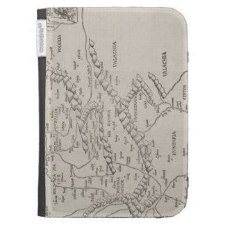 Antique Map of Eastern Europe Case For The Kindle