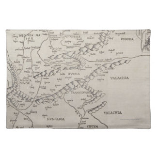 Antique Map of Eastern Europe Placemat