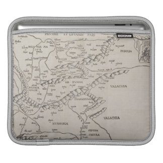 Antique Map of Eastern Europe iPad Sleeve