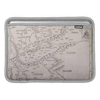 Antique Map of Eastern Europe MacBook Air Sleeve