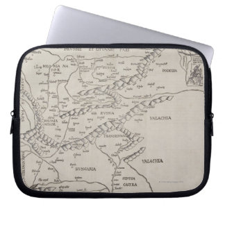 Antique Map of Eastern Europe Laptop Sleeve