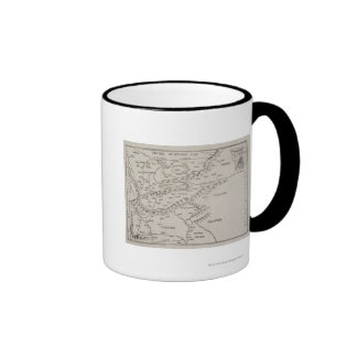 Antique Map of Eastern Europe Coffee Mugs